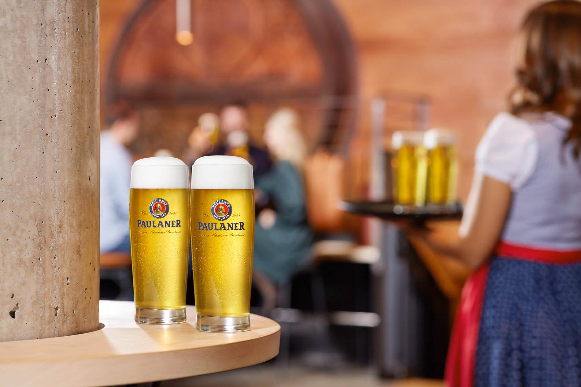 PAULANER Bier für POS & Gastro