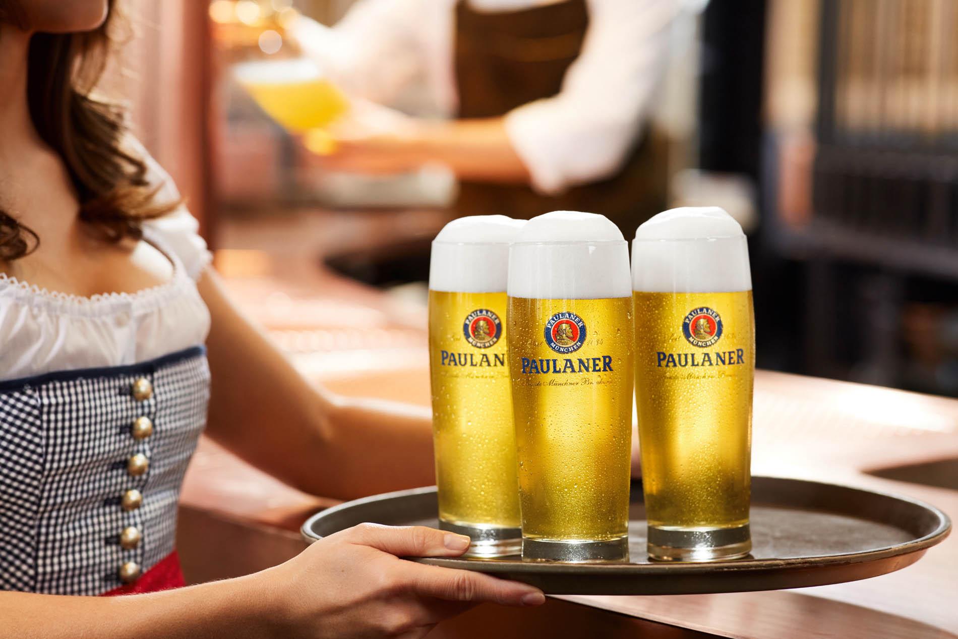 PAULANER Bier für POS & G