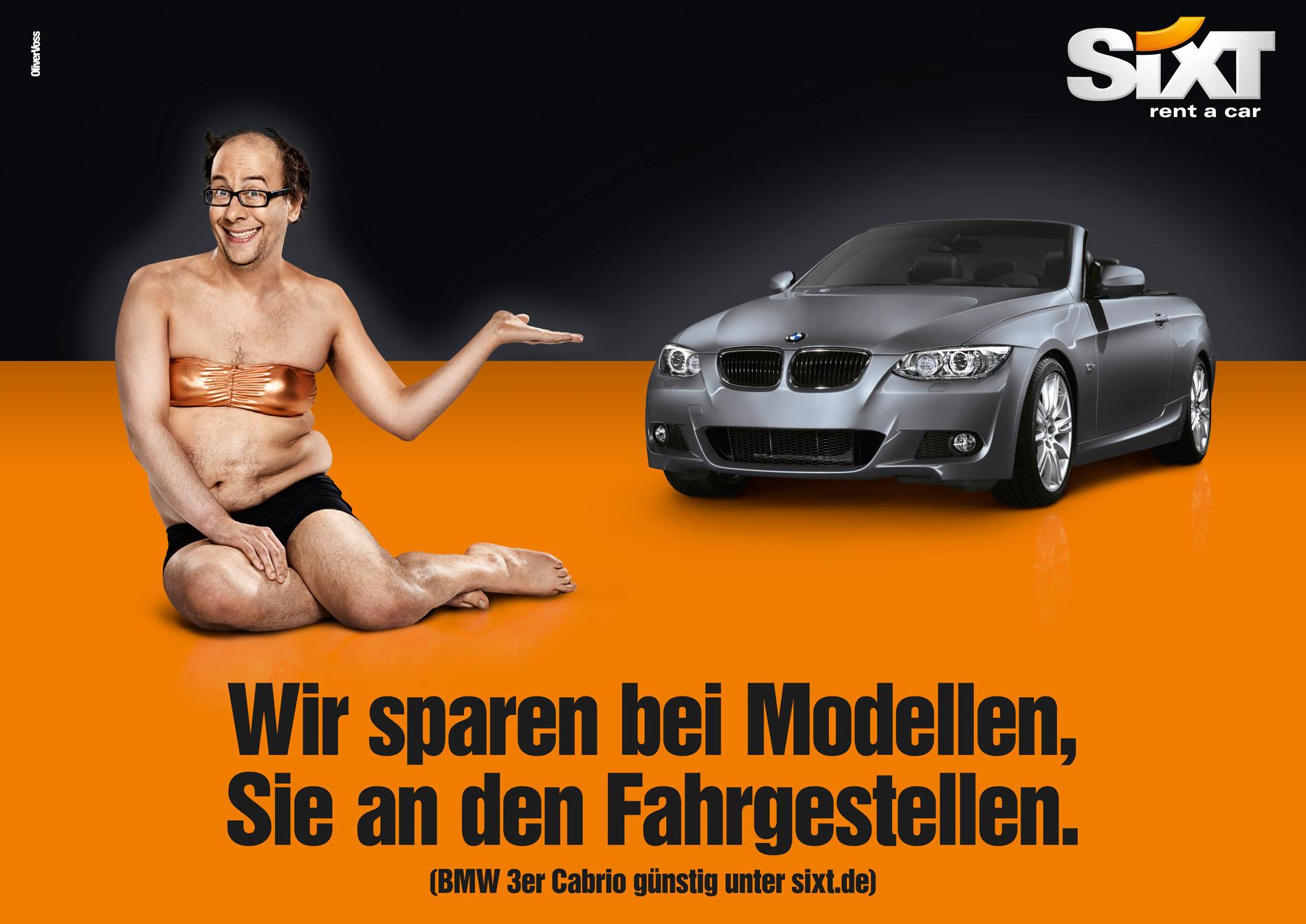 SIXT Kampagne 'Models'