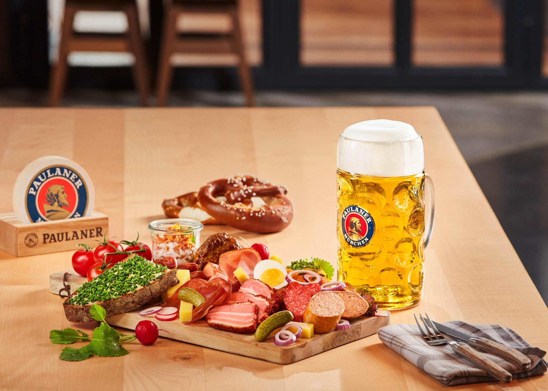 PAULANER - Beer & Food